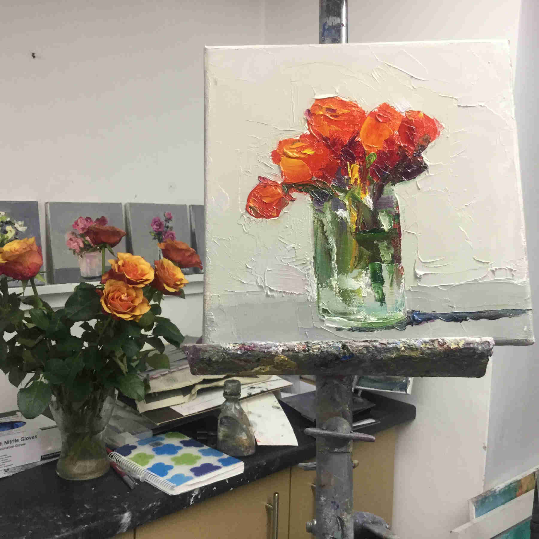Copper Roses- Judith Donaghy