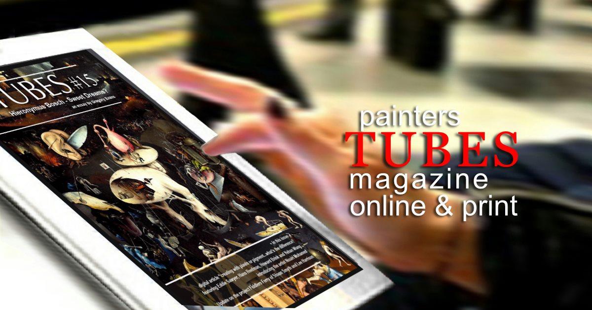 Painters Tubes Magazine Judith Donaghy