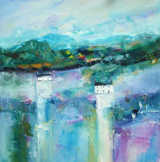 Blue Hillside- Judith Donaghy